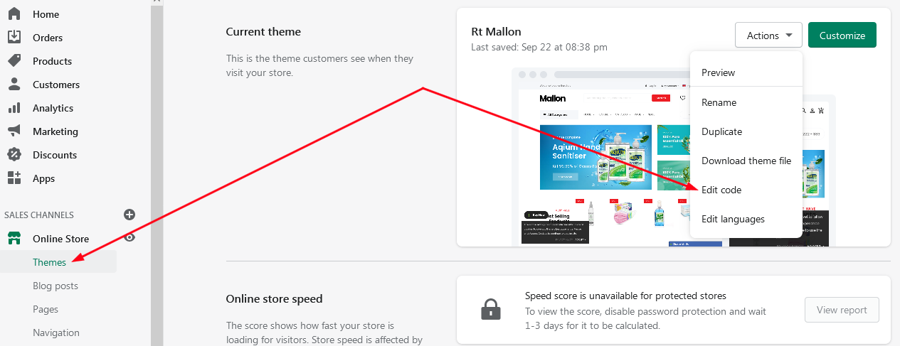 How to insert custom fields to your theme's contact form in shopify