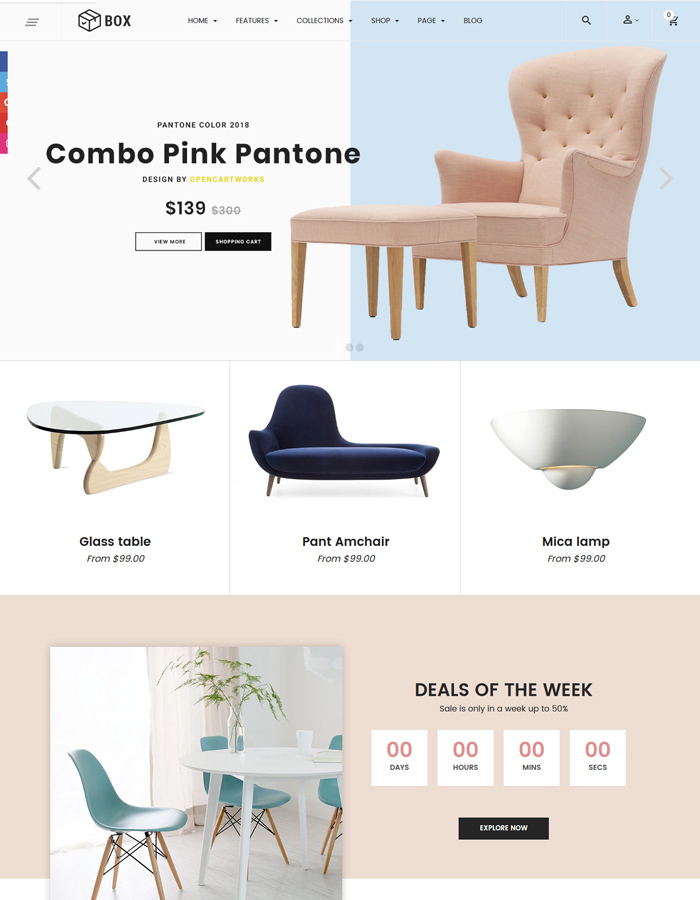 Best Interior & Furniture Shopify Themes for 2020