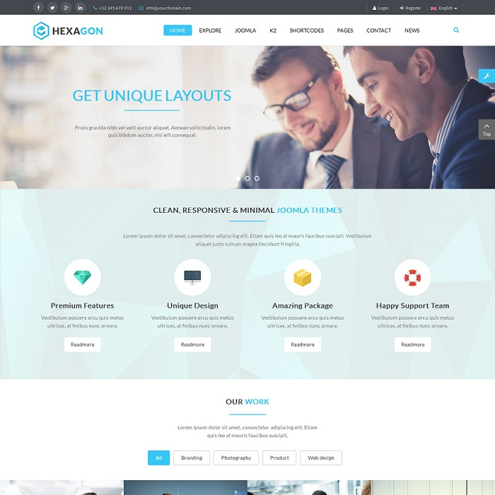 2020's Free and Premium Joomla K2 Templates