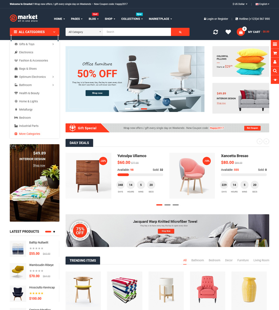 Must-Have OpenCart Themes to Promote Your Black Friday Campaigns