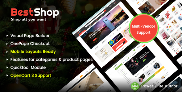 Market - Premium Responsive OpenCart Theme with Mobile-Specific Layout (12 HomePages) - 12