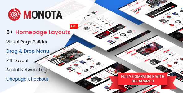 Market - Premium Responsive OpenCart Theme with Mobile-Specific Layout (12 HomePages) - 10