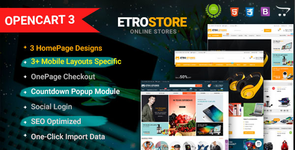 Market - Premium Responsive OpenCart Theme with Mobile-Specific Layout (12 HomePages) - 13