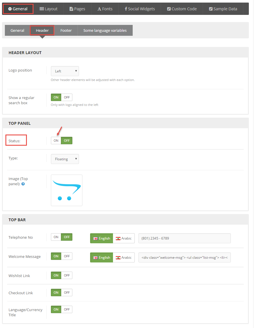How to configure Theme for OpenCart   SmartAddons