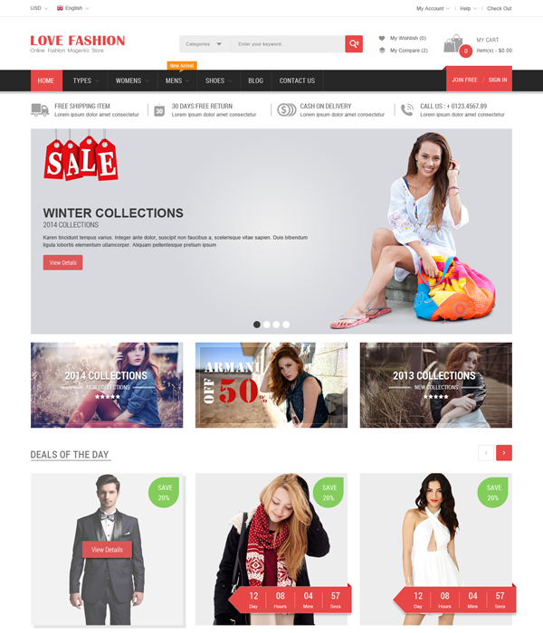 Best Magento Multi-Category Stores Themes - Bigmart
