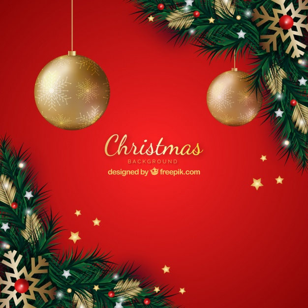High-Quality Free Christmas Vector Graphics 2017 - Merry Christmas Background