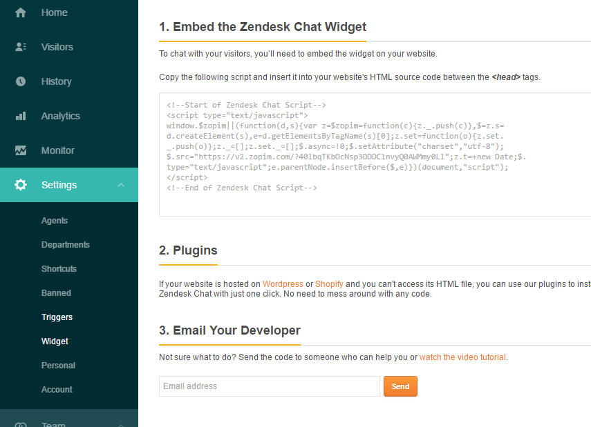 How to integrate Zopin to Magento 2 website 1