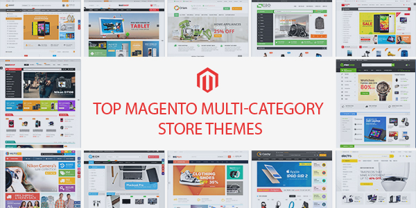 Best Magento Multi-Category Stores Themes