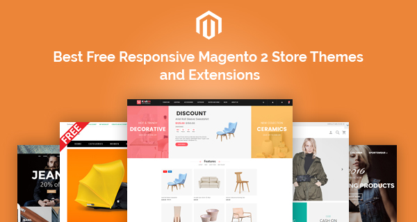 Best Free Responsive Magento 2 Store Themes and Extensions