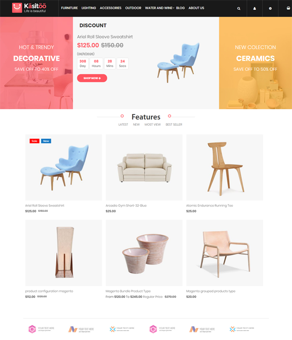 Top 10+ Best Responsive Ultimate Magento 2.2 Themes with Trending Design