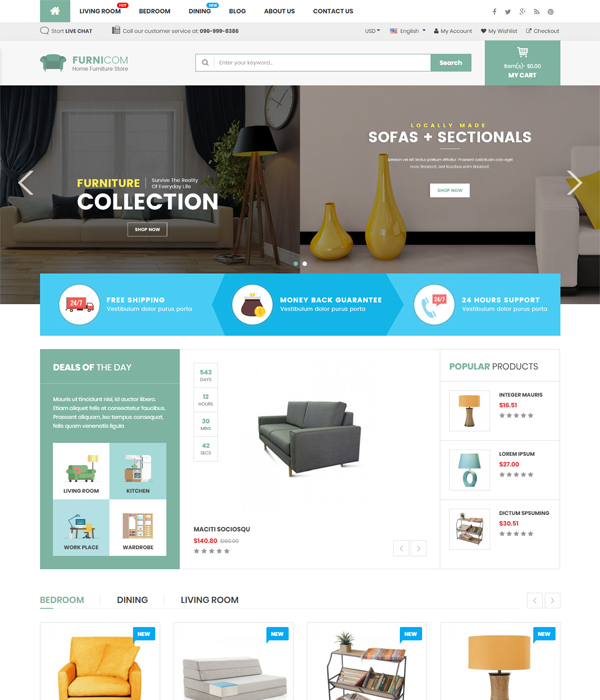 Best Free and Premium Magento 2.1 Themes in 2017 - Market