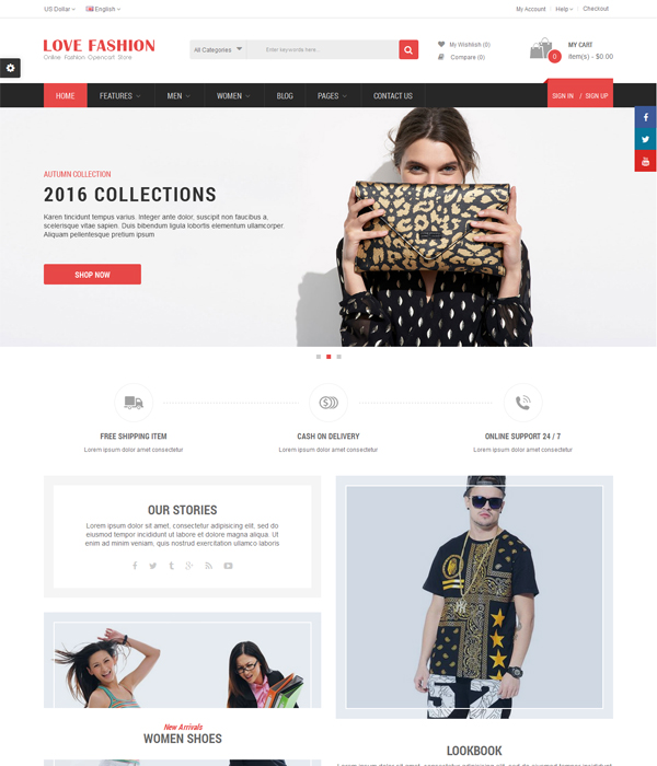 Best Premium OpenCart Themes and Modules 2016- Electro