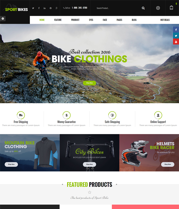Best Premium OpenCart Themes and Modules 2016- Flexshop