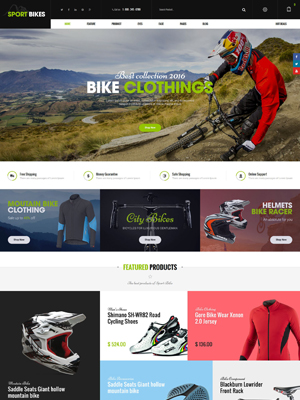 SW Sportbikes - Responsive WooCommerce Wordpress Theme