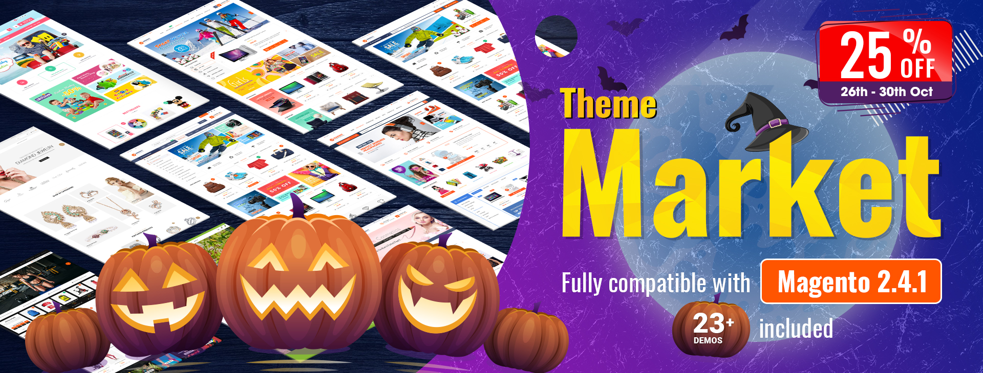 SM Market - The best Magento 2 theme