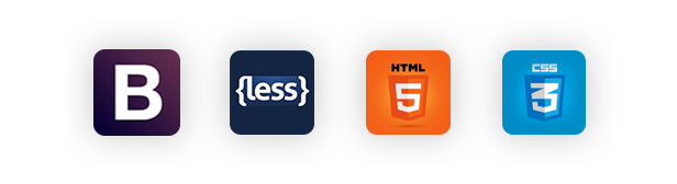 Topz - HTML5, CSS3, BOOTSTRAP & LESS