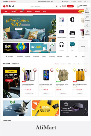 AliMart - Multipurpose Premium Sections Shopify Theme