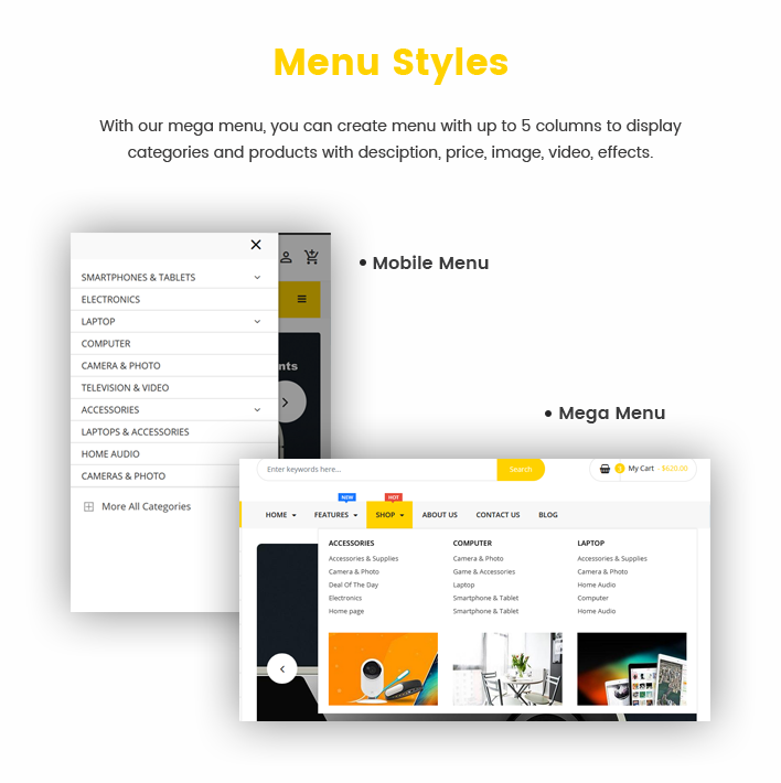 Ss BeStore - Premium Section Shopify Technology Theme