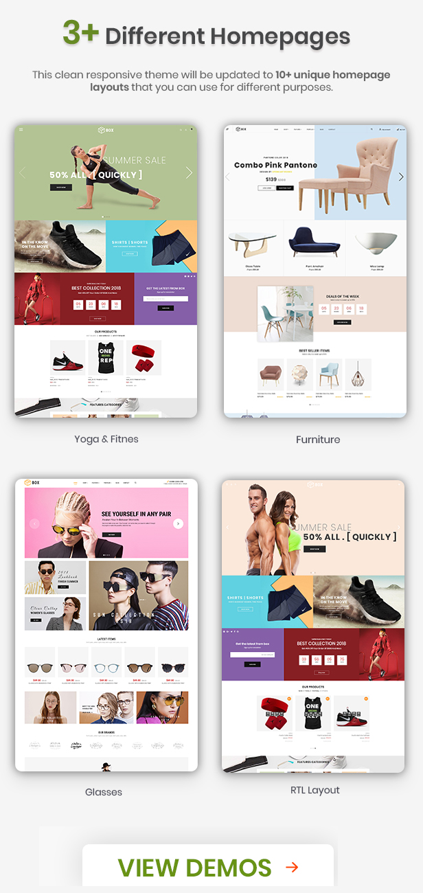 Box – The Clean, Minimal & Multipurpose Shopify Theme with Sections (Shopify)