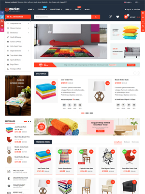 eMarket - Best Selling Shopify Theme