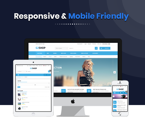 G2Shop - Multipurpose Responsive Shopify Theme with Sections