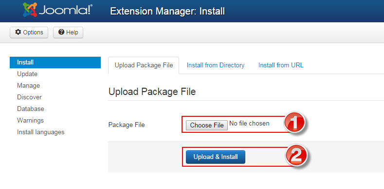 How to install Template for Joomla | SmartAddons Documentation Area