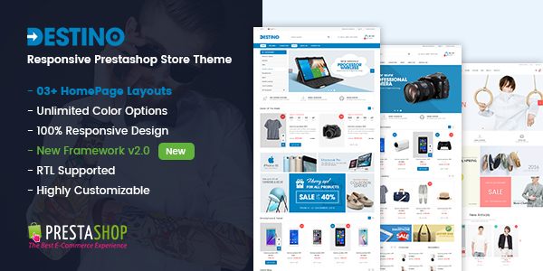 SP Destino - Responsive Prestashop theme