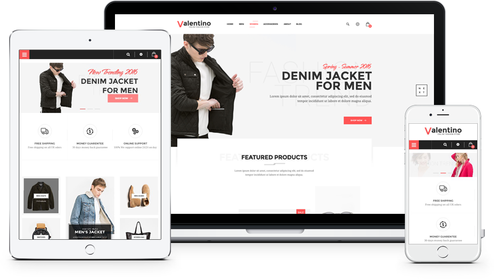 Prestashop Fashion Theme - Fully Responsive