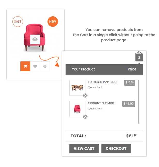 A Fully Functional eCommerce Prestashop Theme - Ajax add to cart
