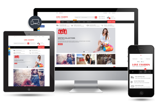 Love Fashion- Fully Responsive