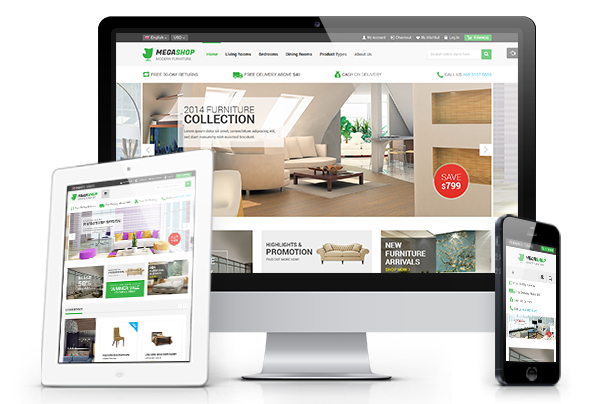 Megashop - Fully Responsive