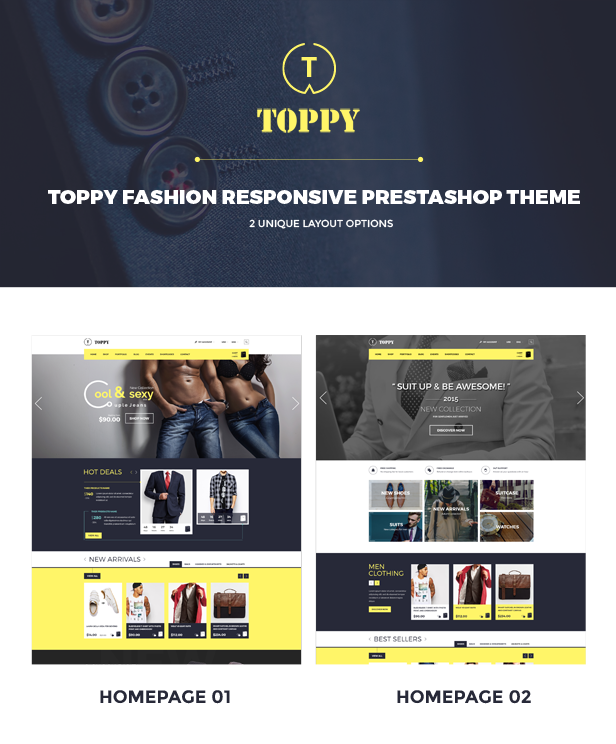 Toppy - Homepage