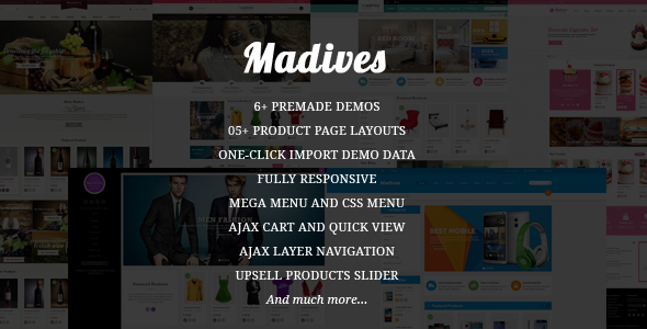 SM Madives - Responsive Magento theme