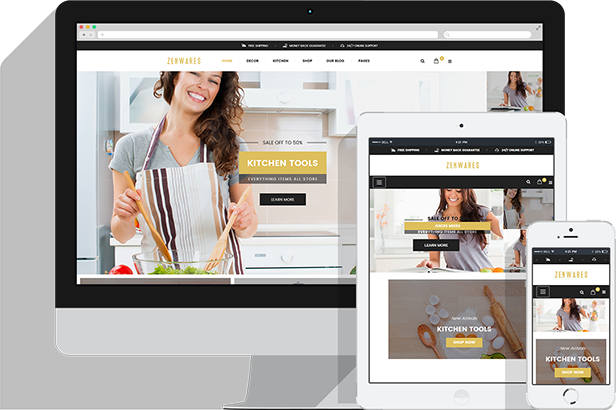 Responsive Technology WooCommerce WordPress Theme - Fully Responsive