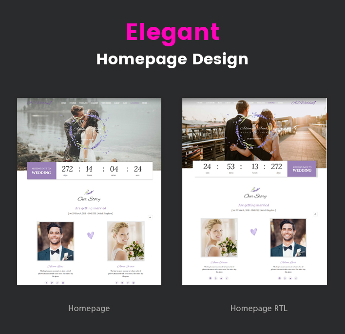 Sj Wedding - Beautiful Wedding Joomla Responsive Template