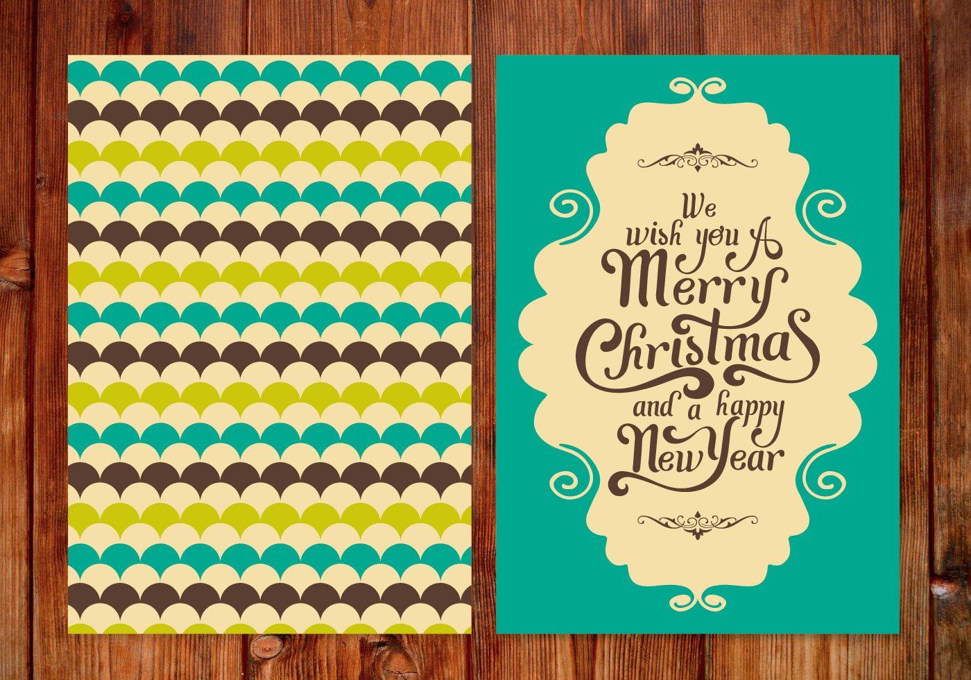 High-Quality Free Christmas Vector Graphics 2017 - Card