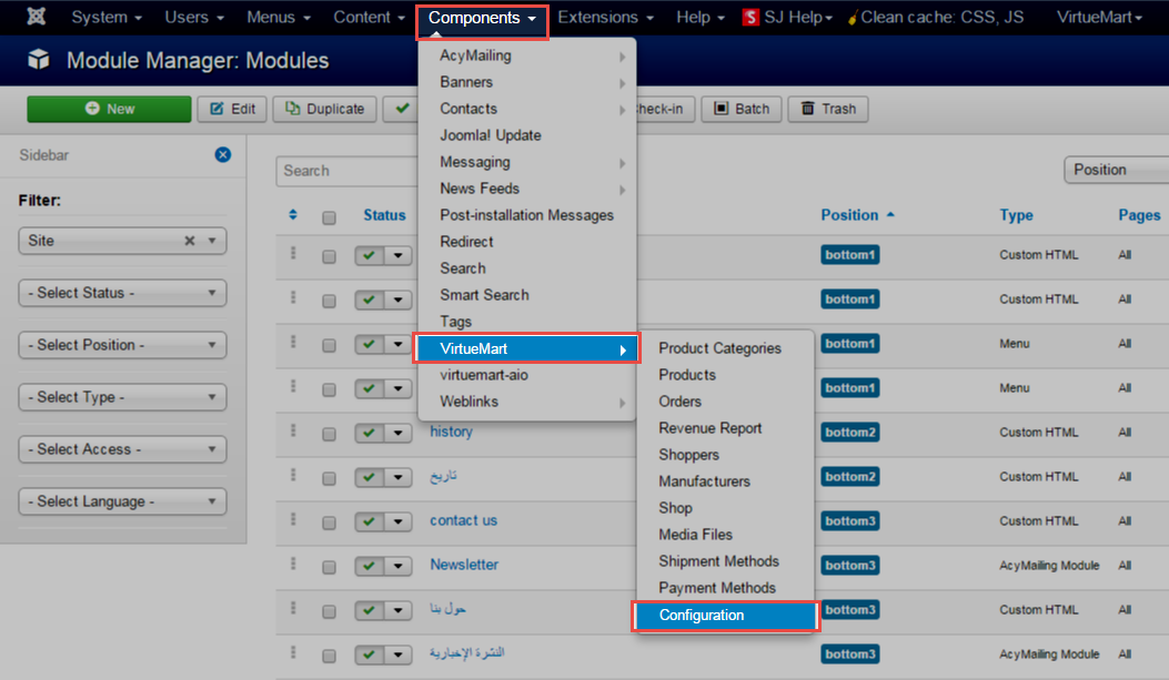How to set up Virtuemart 3.x for multiple languages | SmartAddons ...