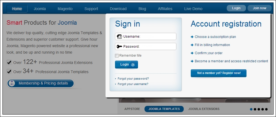 userguide for how to install sj joomla template