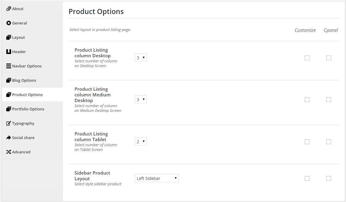 product-options
