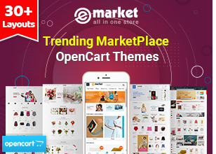 eMarket - Multipurpose StenCil BigCommerce Theme with Google AMP Ready - 1
