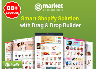 eMarket - Multipurpose StenCil BigCommerce Theme with Google AMP Ready - 2