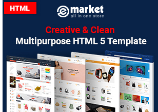 eMarket - Multipurpose StenCil BigCommerce Theme with Google AMP Ready - 4