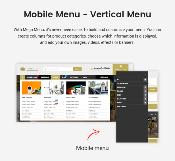 Furnicom - Responsive Furniture & Interior HTML Template