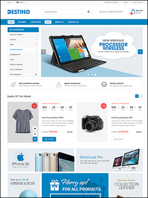 histore - clean and bright responsive magento 2 theme (magento) HiStore – Clean and Bright Responsive Magento 2 Theme (Magento) destino2