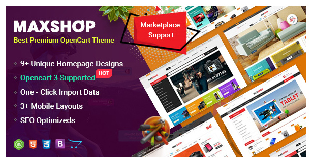 ClickBoom - Advanced OpenCart 3 & 2.3 Shopping Theme With Mobile-Specific Layouts - 8