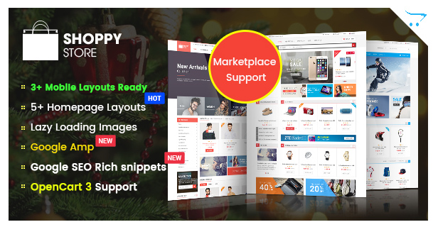 ClickBoom - Advanced OpenCart 3 & 2.3 Shopping Theme With Mobile-Specific Layouts - 10