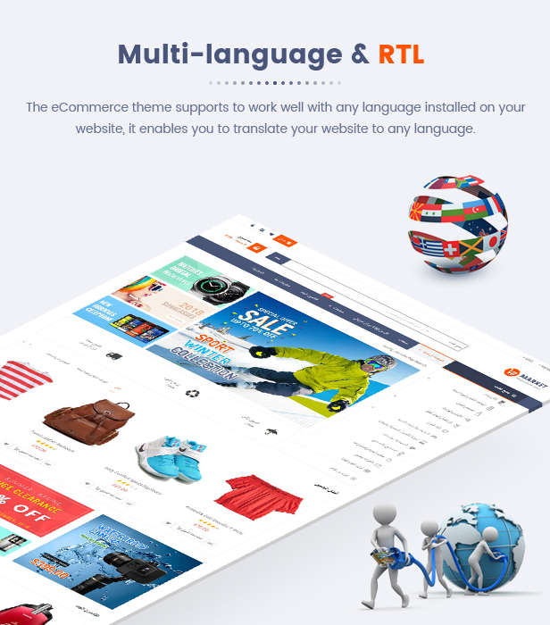 Market - Responsive Multipurpose Prestashop Theme - Language