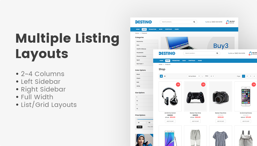 SW Destino - WooCommerce Theme
