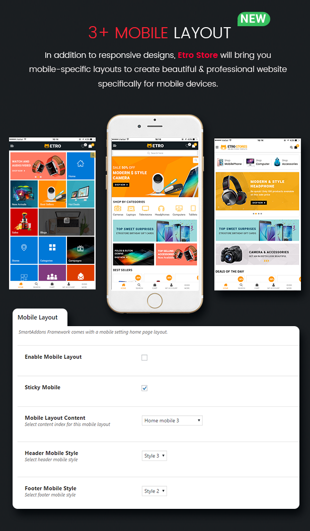 Mobile Layout