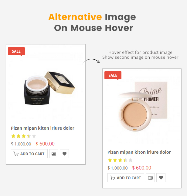 SW Market - Responsive WooCommerce WordPress Theme - Mouse Hover